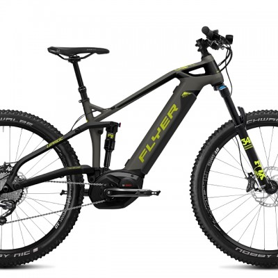 FLYER_E-Bikes_Uproc3_Fullsuspension_630_slategreylimegreen