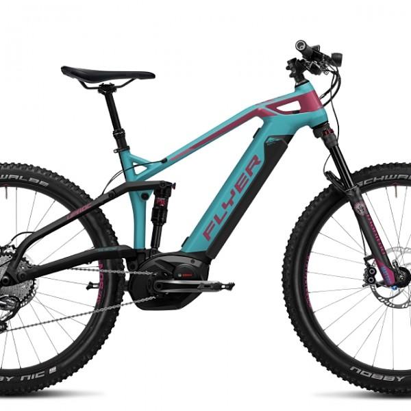 FLYER_E-Bikes_Uproc3_Fullsuspension_410_Heidi_glacierblueberry