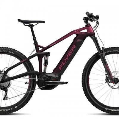 FLYER_E-Bikes_Uproc6_Fullsuspension_410_Heidi_aubergineberry