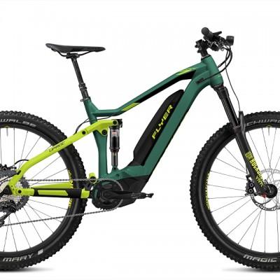FLYER_E-Bikes_Uproc7_Fullsuspension_410_opalgreenlimegreen